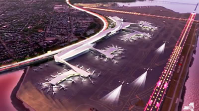lga terminals c & d construction laguardia airport nyc