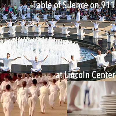 table of silence 911 lincoln center
