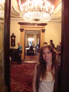 steinway mansion entrance and main foyer