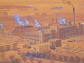 sunnyside yards lic queens manufacturing companies 19th 20th century photo