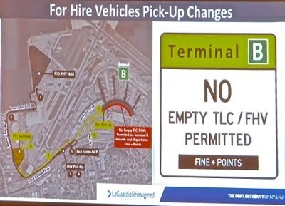 laguardia airport travel times during renovations laguardia development project nyc